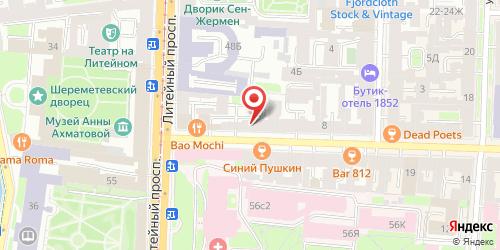 Бар F-bar / Эф-бар, Санкт-Петербург, Жуковского ул., 4