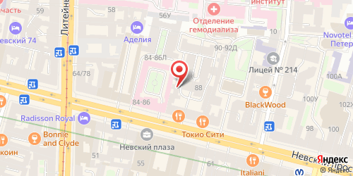 Клуб Готика, Санкт-Петербург, Невский пр., 88