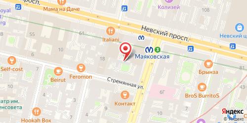 Кафе Чайная ложка, Санкт-Петербург, Марата ул., 3