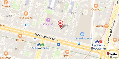 Кафе Теремок, Санкт-Петербург, Невский пр., 106