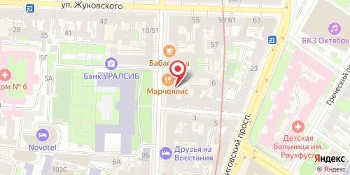 Кафе-ресторан Марчелли's, Санкт-Петербург, Восстания ул., 15