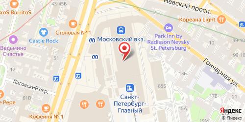 Ресторан Евразия, Санкт-Петербург, Невский пр., 85 (Московский вокзал, центральный вход)