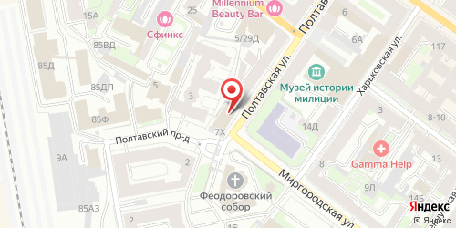 Ночной клуб Клуб №7, Санкт-Петербург, Полтавская ул., 7