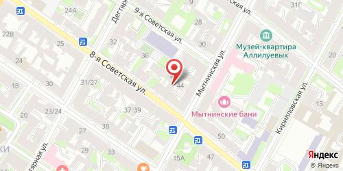 Кафе Город 812, Санкт-Петербург, 8-я Советская ул., 42