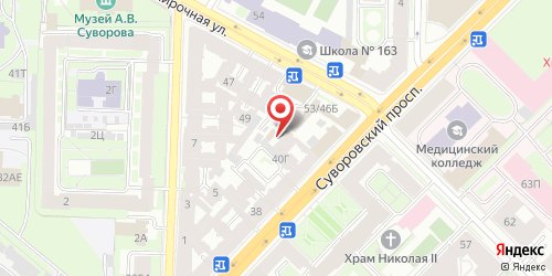 Суши-бар Евразия, Санкт-Петербург, Суворовский пр., 42
