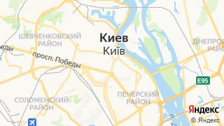 Карта автосервисов Киева