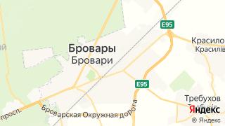 Карта автосервисов Броваров