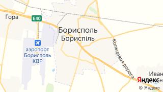 Карта автосервисов Борисполя