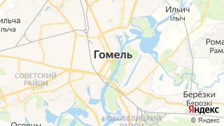 Карта автосервисов Гомеля