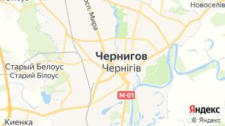 Карта автосервисов Чернигова