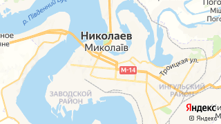 Карта автосервисов Николаева