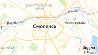 Карта автосервисов Смоленска