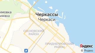 Карта автосервисов Черкасс
