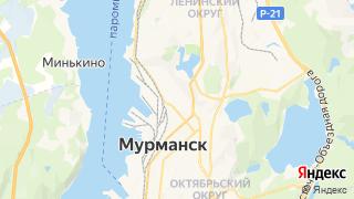 Карта автосервисов Мурманска