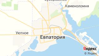 Карта автосервисов Евпатории