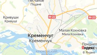 Карта автосервисов Кременчуга