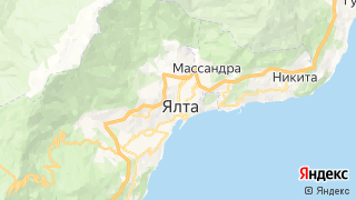 Карта автосервисов В Ялте