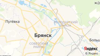 Карта автосервисов Брянска