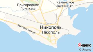 Карта автосервисов Никополя