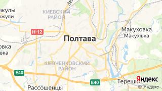 Карта автосервисов Полтавы