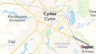 Карта автосервисов Сум