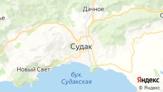 Карта автосервисов Судака