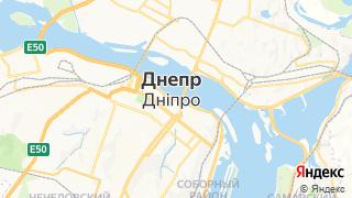 Карта автосервисов Днепропетровска