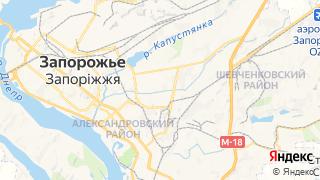 Карта автосервисов Запорожья