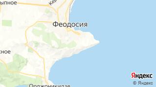 Карта автосервисов Феодосии