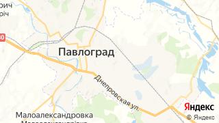 Карта автосервисов Павлограда