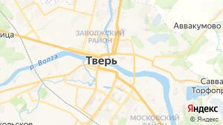 Карта автосервисов Твери