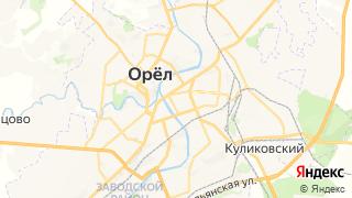 Карта автосервисов Орел