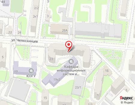 Схема расположения офиса турагентства «Оазис-Тур»