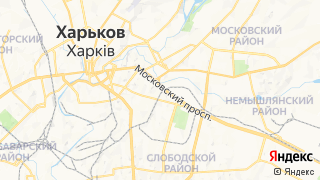 Карта автосервисов Харькова