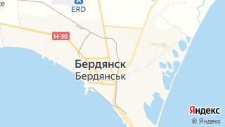 Карта автосервисов Бердянска