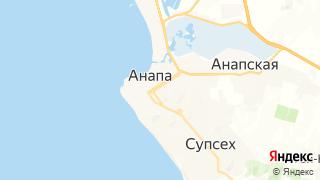 Карта автосервисов Анапы
