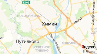 Карта автосервисов Химок