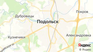 Карта автосервисов Подольска