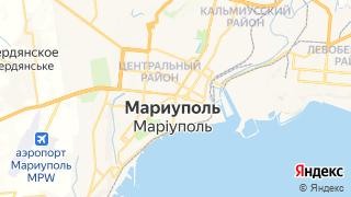 Карта автосервисов Мариуполя