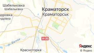 Карта автосервисов Краматорска