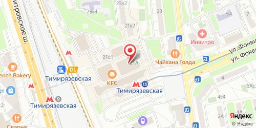 Васаби (Vasabi), Яблочкова ул., д. 21 А (ТЦ Тимирязевский, 2 этаж)