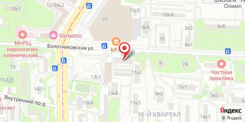 Бар 111 (Bar 111), Болотниковская ул., д. 11, корп. 1