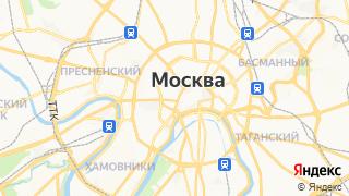Карта автосервисов Москвы