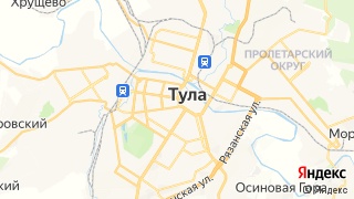 Карта автосервисов Тулы
