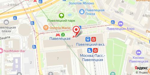 Аэробар (Aerobar), Павелецкая пл., д. 1 (подъезд 3)