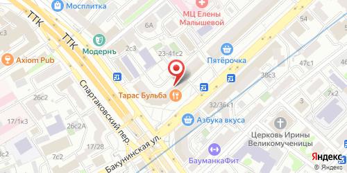 Карузо (Caruso), Бакунинская ул., влад. 23-41, стр. 1