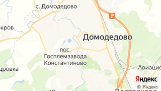 Карта автосервисов Домодедова