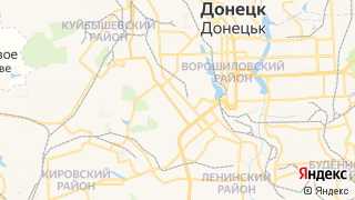 Карта автосервисов Донецка