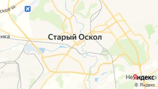 Карта автосервисов Старого Оскола