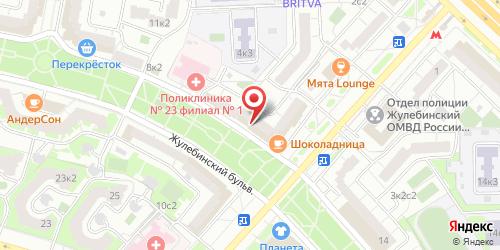 Давайте потанцуем, Жулебинский б-р, д. 10/6